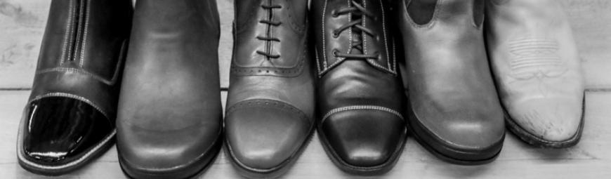 Rijschoenen en laarzen