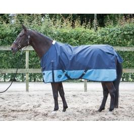 Harry's horse regendeken+ fleece voering Wodan Black Iris