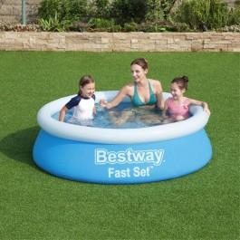 Bestway zwembad fast set rond 183cm