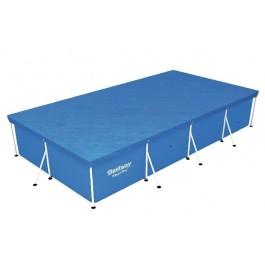 Flowclear zwembadcover steel pro rechthoek 400cm