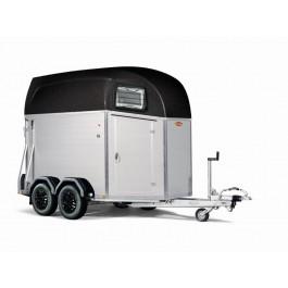 Böckmann trailer Champion Esprit Silver+Black met zadelkamer