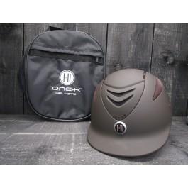 OneK helmet Defender Pro Swarovski bruin