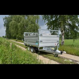 TwinTrailer kipper Alumate TT27-30, 2700kg, 309x183cm
