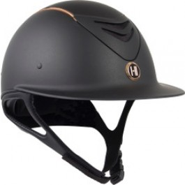 OneK helmet Avance Wide Brim Rosegold piping