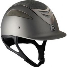 OneK helmet Defender Pro Glitter chrome grijs