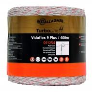 gallagher vidoflex 9 turboline plus wit 400mtr