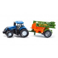 Siku New Holland met veldspuit 1:87