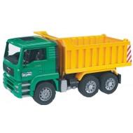 Bruder Man TGA Kipper vrachtwagen 1;16