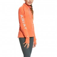 Airat shirt Tek Team 1/2 zip girls