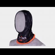 Herock nekwarmer Hako fleece, zwart