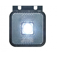 Toplamp LED wit 12/24v 65x65x28 met beugel