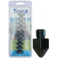 tacx kalkoenen 17mm met punt 10 stuks