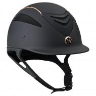 OneK helmet Defender Pro Matt Rosegold Black
