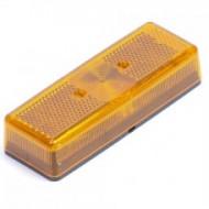Opbouwlamp rechthoek oranje