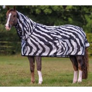 bucas vliegendeken buzz-off zebra full neck