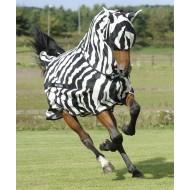 bucas vliegenmasker buzz-off zebra