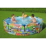 Bestway zwembad steel pro rond dieren 274 cm