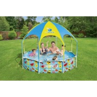 Bestway my first frame pool splash-in-shade play rond 244cm