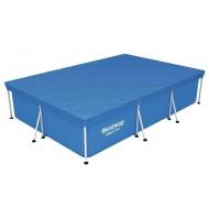 Flowclear zwembadcover Steel Pro rechthoek 300cm