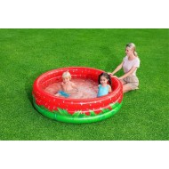Bestway kinderbad rond sweet strawberry 160cm