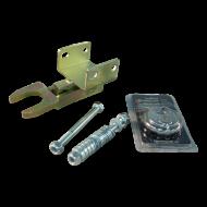 Fixed lock B ongekeurd 2x horizontaal (AL-KO) M12 voor geremde aanhangwagens