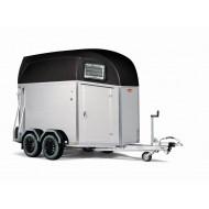 Böckmann trailer Champion Esprit black met zadelkamer
