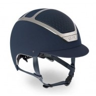 Kask cap dogma chrome light navy/zilver