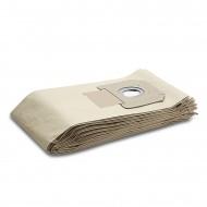 Kärcher filterzak, papier. 5 stuks