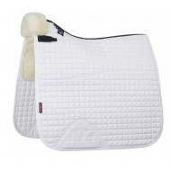Le Mieux Saddle Pad Merino + dressage Square half lined