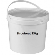 Strooizout 15 kilo in een emmer