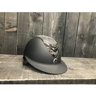 OneK helmet Avance Wide Brim Chrome Shine zwart