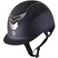 OneK helmet Defender Pro Glitter chrome zwart