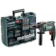 Metabo klopboormachine SBE 650 set in kunststof koffer; mobiele werkplaats