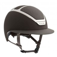 Kask cap dogma chrome light bruin/zilver