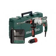 Metabo Multi-hamer UHE 2660-2 Quick set met 10-delige SDS-plus beitel/boorset. In een kunststof koffer