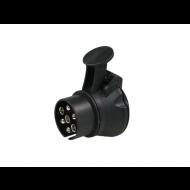 Verloop/adapter 7-polig >13, met deksel