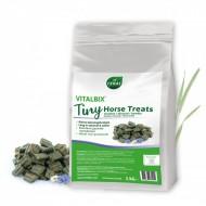 Vitalbix Tiny Horse Treats 2kg timothee/lijnzaad/kamille