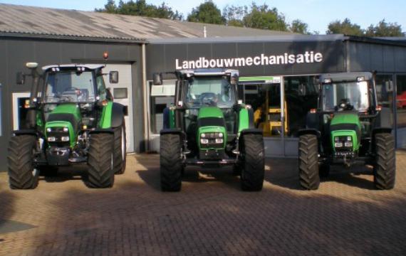 Bosgra officiële dealer van Deutz Fahr tractoren