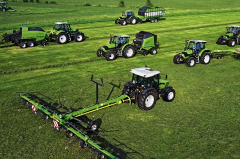 Verkoop en onderhoud van landbouwmechanisatie